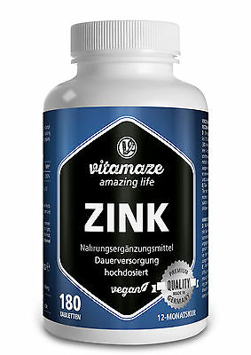 Zink Tabletten Test